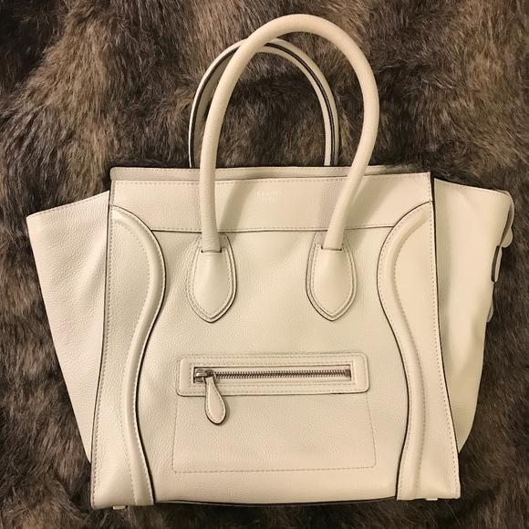 Celine Handbags - Medium CELINE PHANTOM LUGGAGE TOTE (discontinued)